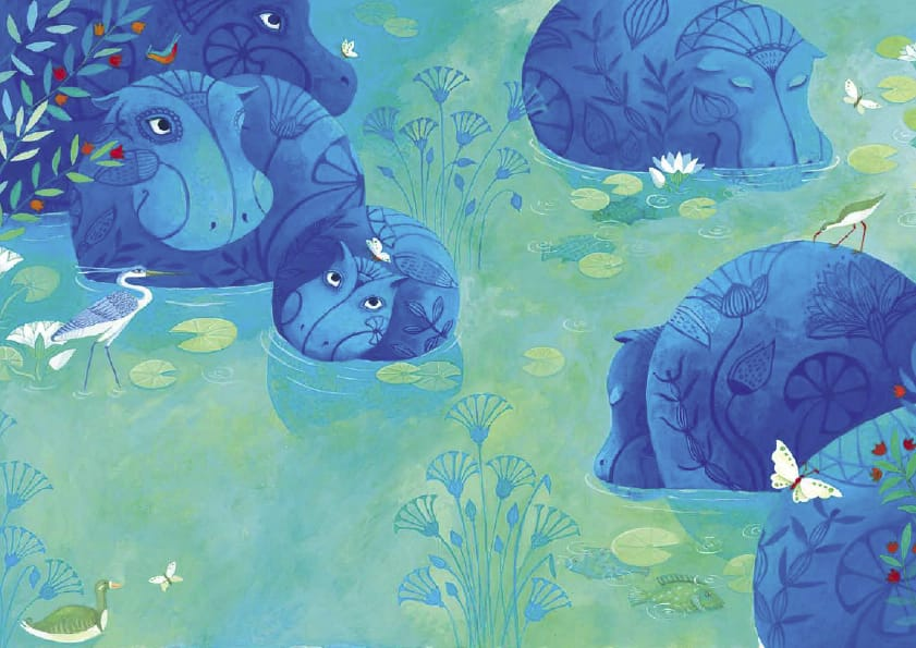 B/éb/é hippopotame dans votre poche D/ébardeur
